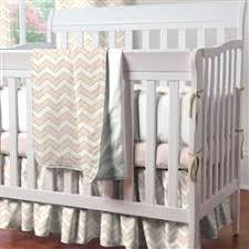Gold Crib Bedding Sets Pale Pink And Gold Chevron Mini Crib Bedding Carousel Designs