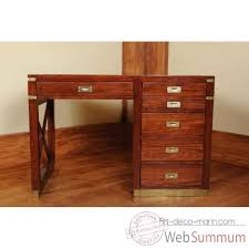 caisson bureau bois bureau colony phileas phil022 dans meuble marin bois de