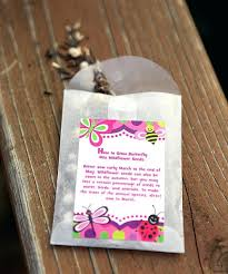 seed packets wedding favors flower seed packets for wedding favors wedding ideas