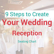 wedding reception seating chart 9 steps to create your wedding reception seating chart