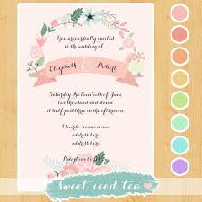 9 best images of digital wedding invitation templates hallmark