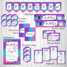 printable decoration packs chic baby cakes