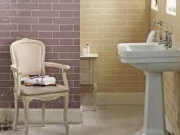 British Bathroom Vintage Pastel Bathroom British Ceramic Tile