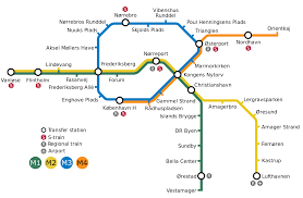 Amsterdam Metro Map by Copenhagen Metro U2014 Map Lines Route Hours Tickets