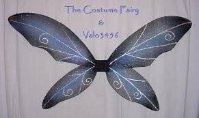 Halloween Costume Wings Fairy Wings Halloween Costume Tinkerbell Fae Lotr Gothic Glitter