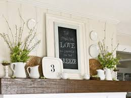 Rustic Wood Home Decor Mantel Fireplace Mantel Decor With Rustic Wood Shelf And Vase For