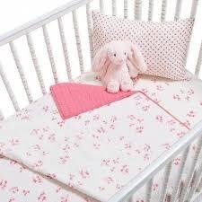 auggie pink crib bedding
