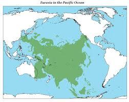map size comparison eurasia in the pacific more size comparison maps hărți