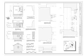 file first floor plan building section west elevation south