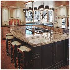 stove on kitchen island some facts about rustic kitchen island with stove and sink that will