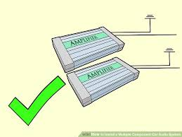 6 ways to install a multiple component car audio system wikihow