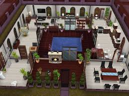 Sims Freeplay House Floor Plans Jacuzzi Center Home Thought This Was Cool Idea Sims Freeplay