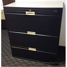 3 drawer lateral file cabinet used boulevard black 3 drawer lateral file cabinet w laminate top