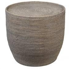 round rattan side table theo and joe verandah natural rattan side table round theo and joe