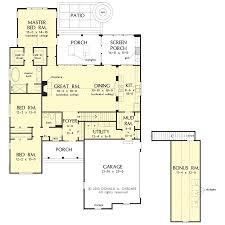 house plan on drawing board plan 1327 houseplansblog