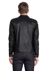 vented motorcycle jacket comune mitchell motorcycle jacket in black for men lyst