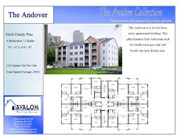 pictures on multi family plans four units free home designs