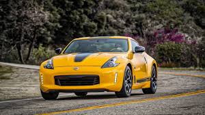 nissan small sports car 2018 nissan 370z heritage edition reminds us this car still exists