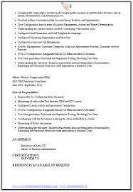 resume customization reasons 10000 cv and resume sles with free sap crm resume