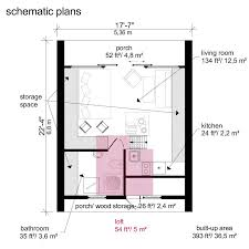 cottage floor plans with loft a frame tiny house plans