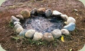 Firepit Rock Building A Pit