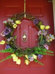 spring door decorations feldco chicago