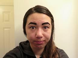 i tried peel off lip u0026 eyebrow tattoos u0026 this is what happened
