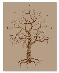 tree of wedding invitations on seeded paper timeless tree