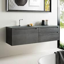 Glass Bathroom Furniture by Falper Via Veneto Vetro Integrated Cabinet And Basin Rogerseller
