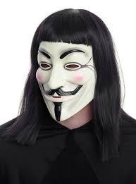 v for vendetta mask dc comics v for vendetta fawkes mask hot topic