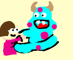 boo hugs sully cute draw monsters drawing arcwalrus