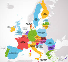best states to work in four maps show 50 states and european countries best and worst