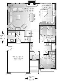 split plan house saddlepost split level home plan 032d 0673 house plans and more 4