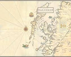 Scotch Whisky Map Talisker Single Malt Island Whisky Whiskey And Whiskers