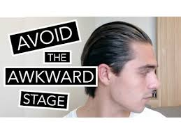 wavy long hair awkward stage men how to style your hair during the awkward stage growing long hair