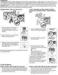 Craftsman Garage Door Openers by Craftsman Garage Door Opener Reprogram Fluidelectric