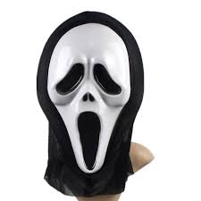 Halloween Costumes Scream Mask Cosplay Party Halloween Masks Kid Masquerade Masks Costume