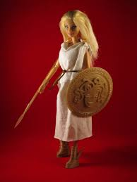 3ders org open source 3d printed medieval armor barbie doll