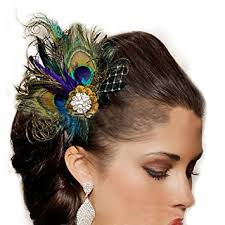 peacock headband jelinda women s peacock bridal headband feather fascinator