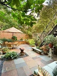 Townhouse Backyard Design Ideas Glamorous Townhouse Backyard Ideas Images Best Ideas Exterior