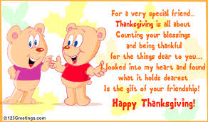 a thanksgiving gift for your friend free friends ecards 123