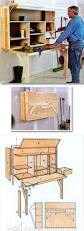 Drafting Table Woodworking Plans Fold Down Workbench Plans Workshop Solutions Projects Tips And