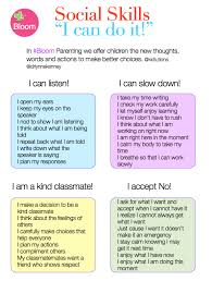 Counseling Skills For Teachers I Can Do It Teaching Social Skills With Words And Behaviors