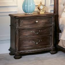 Jessica Mcclintock Home Decor American Drew Jessica Mcclintock 3 Drawer Nightstand In Baroque