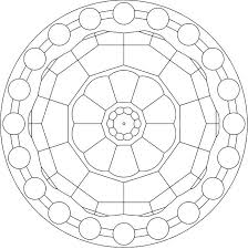 mandala circles coloring pages resolution coloring mandala