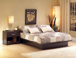 Minimalistic Bed Bedroom Complete Bed Set With A Chocolate Atmosphere Large
