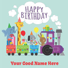 birthday cards for kids happy birthday card for kids with your name