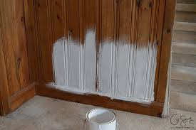 stained wood panels painting vs whitewashing panelling and brick madness method