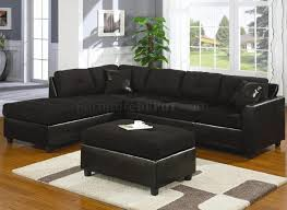 Black Sectional Sofas Black Reclining Sectional Sofa Black Leather Contemporary