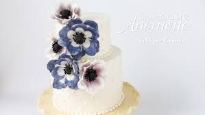 gumpaste anemone tutorial u2013 renee conner cake design